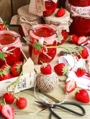 Strawberry-vanilla-jam