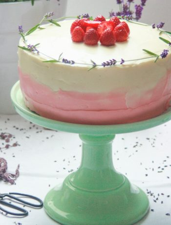 Lavender-cake